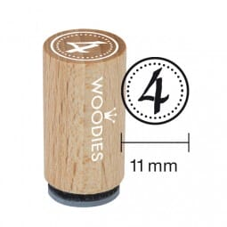 Mini Woodies Stempel - 4