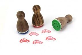 Stemplino Ministempel Spielzeugauto