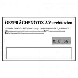 Trodat Professional 54120 Datumstempel - 116 x 70 mm - 6 + 6 Zeilen - Datum rechts