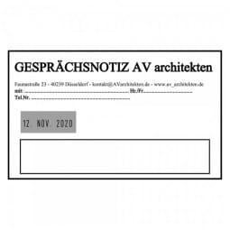 Trodat Professional 54120 Datumstempel - 116 x 70 mm - 6 + 6 Zeilen - Datum links