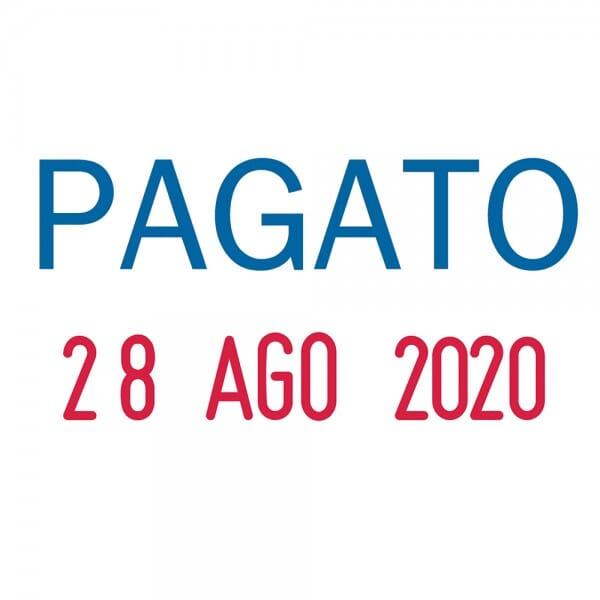 "Trodat Printy Datumstempel 4850/L2 ""PAGATO"""