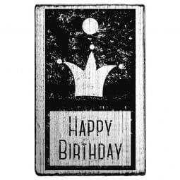 Vintage Stamp Happy birthday
