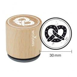 Woodies Stempel - Brezel