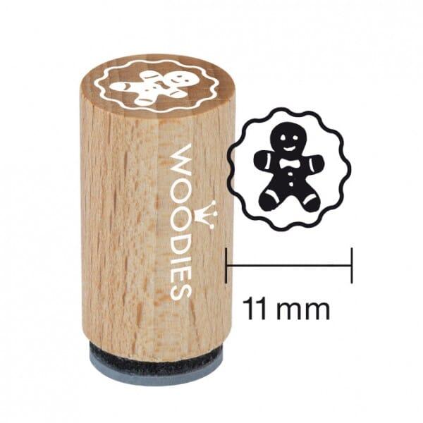Mini Woodies Stempel - Lebkuchenmann