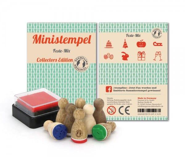 Ministempel Feste-Mix