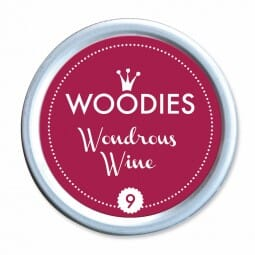 Woodies Stempelkissen - Wondrous Wine