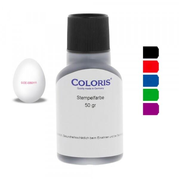 Coloris Eierstempelfarbe