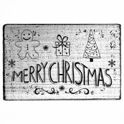 Vintage Stamp Merry Christmas (Lebkuchenmann)