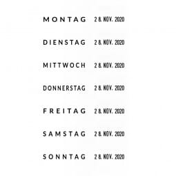 Trodat Printy Datumstempel 4812 mit Wortband