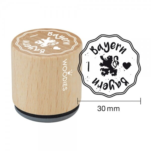 Woodies Stempel - Bayern