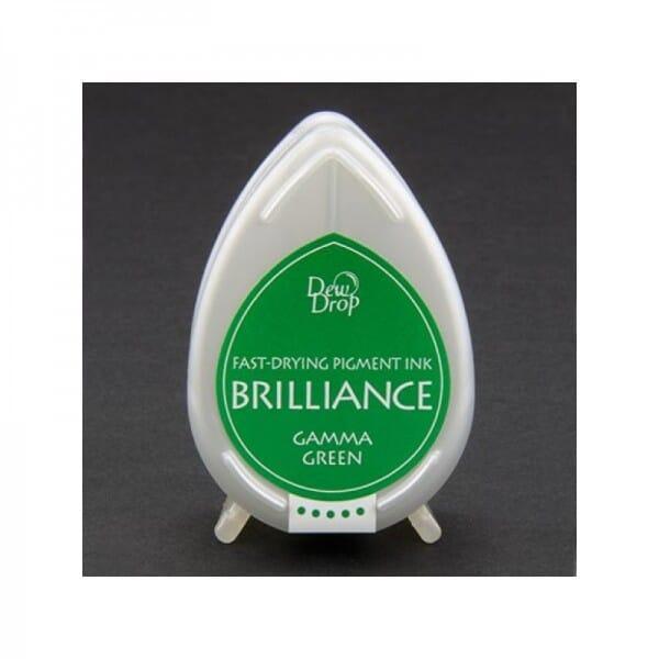 Tsukineko - Gamma Green Brilliance Dew Drop Stempelkissen
