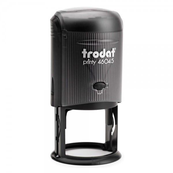 Trodat Printy 46045 - Textstempel rund - Dm. 45 mm - 8 Zeilen