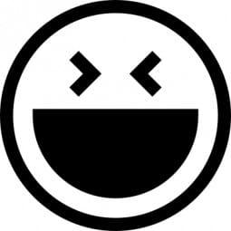 Perma Stempel Holzstempel - Smile 3002