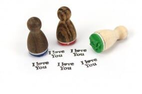 Stemplino Ministempel I love you