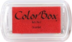 Clearsnap - Colorbox Mini Inkpad Scarlet