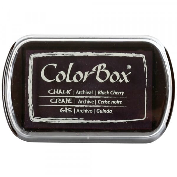 Clearsnap - Colorbox Chalk Ink Full Size Black Cherry