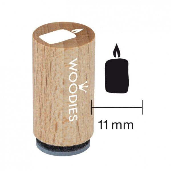 Mini Woodies Stempel - Kerze