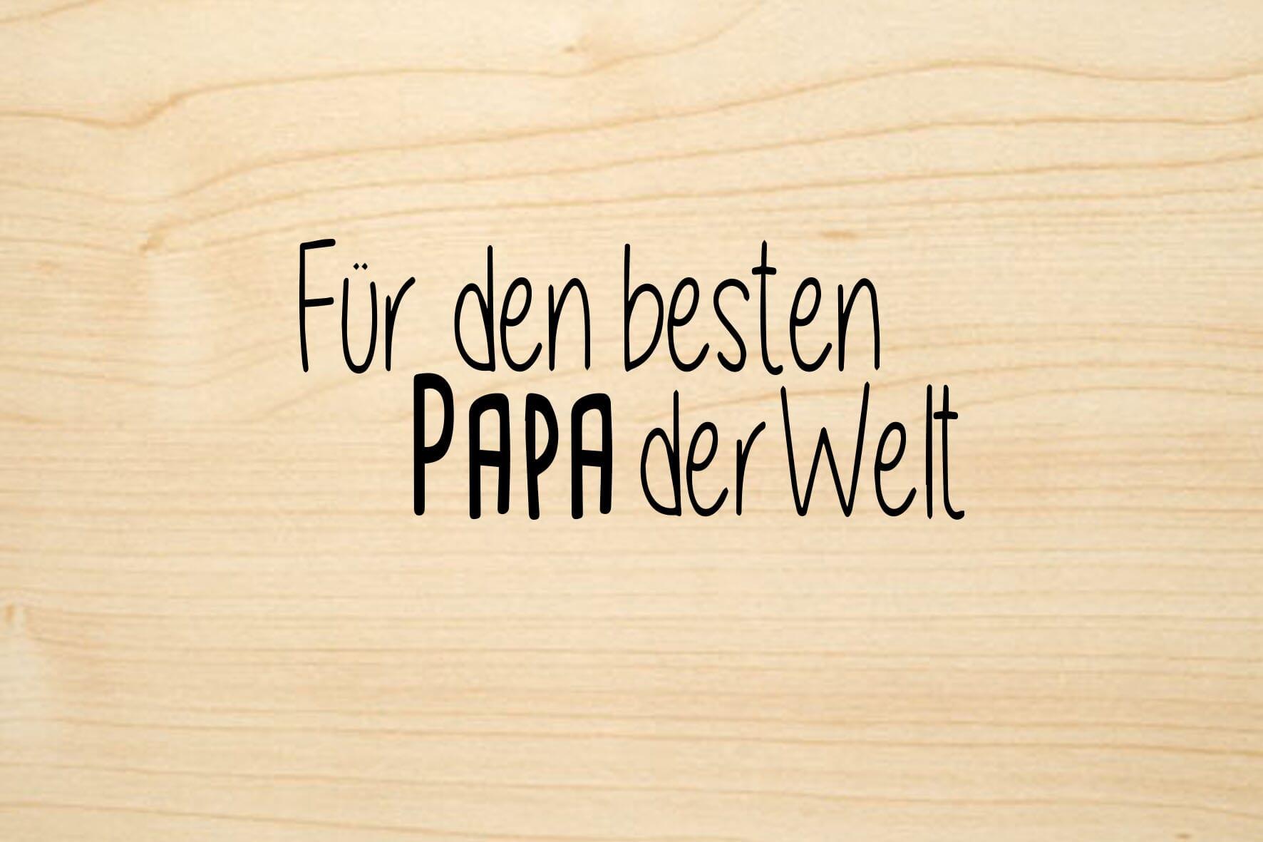 Brief An Den Besten Papa Der Welt