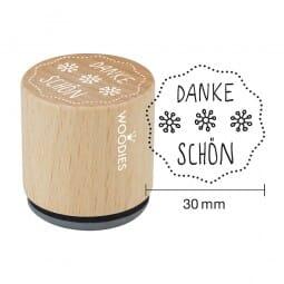 Woodies Stempel - Danke schön