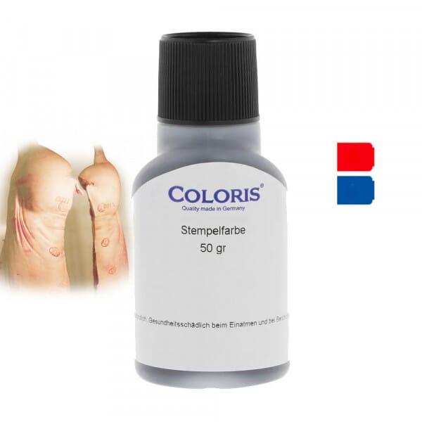 Coloris Fleischbeschauerfarbe
