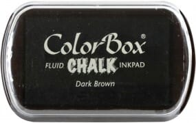 Clearsnap Colorbox - Chalk Dark Brown Stempelkissen