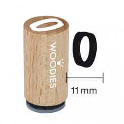 Mini Woodies Stempel - 0