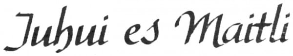 Perma Stempel Holzstempel - Juhui es Maitli