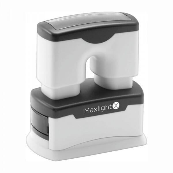 Trodat MaxLight X6 rechteckig - 43 x 13 mm - 3 Zeilen