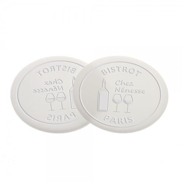 Delrinplatten für Trodat Ideal Prägezangen 51 mm rund