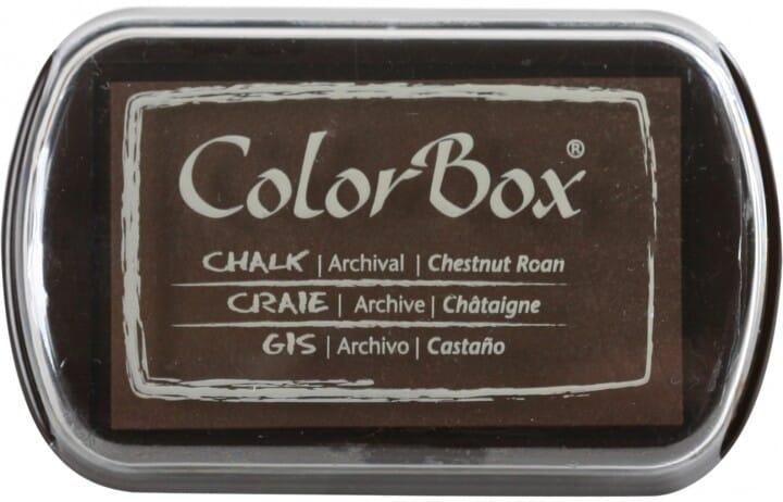 Clearsnap Colorbox - Chalk Chestnut Roan Stempelkissen