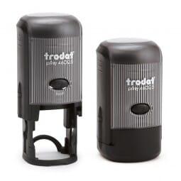 Trodat Printy 46025 - Textstempel rund - Dm. 25 mm - 5 Zeilen