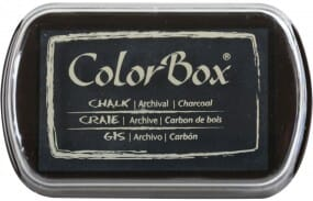 Clearsnap Colorbox - Chalk Charcoal Stempelkissen