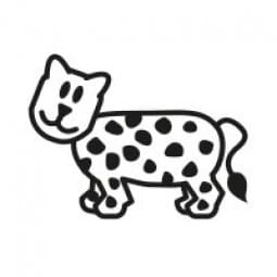 Stemplino Ministempel Luis Leopard