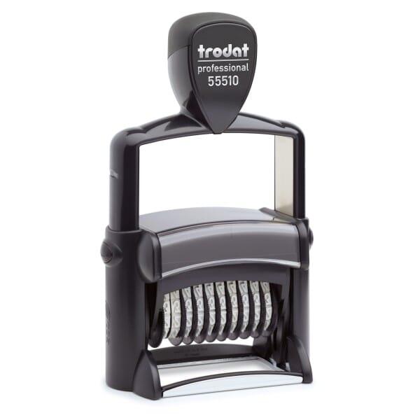Trodat Professional 55510/PL Ziffernstempel - 10 Bänder - 2 + 2 Zeilen