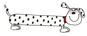 Penny Black Holzstempel - Hund (Design 2)