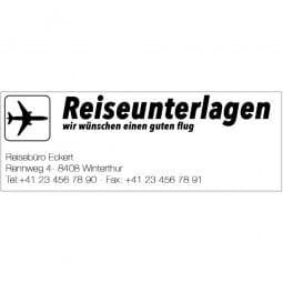 Trodat Professional 5205 - Textstempel - 68 x 24 mm - 6 Zeilen