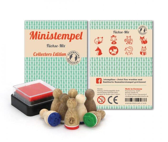 Stemplino Ministempel Füchse-Mix