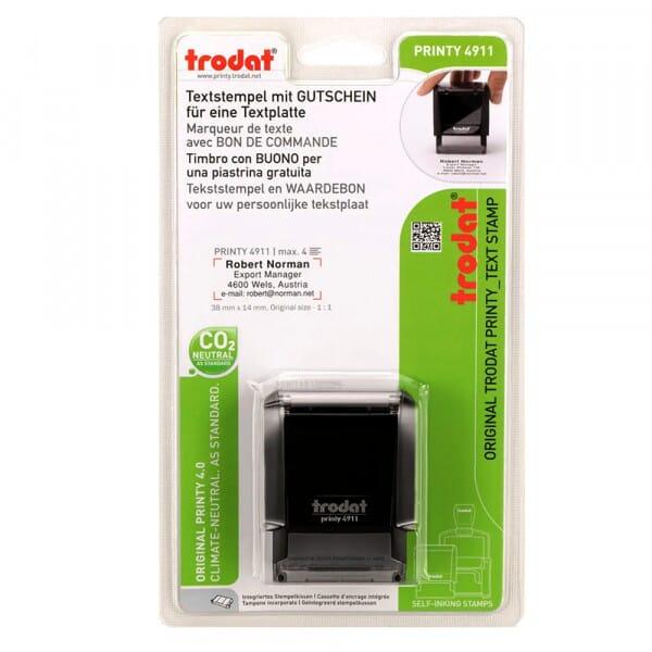 Trodat-Printy 4911 mit Textplattengutschein