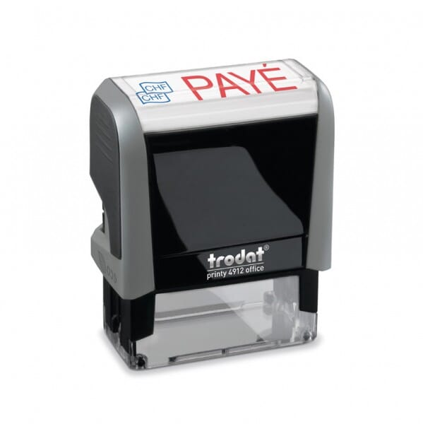 """Trodat Office Printy Textstempel """"Payé"""""""