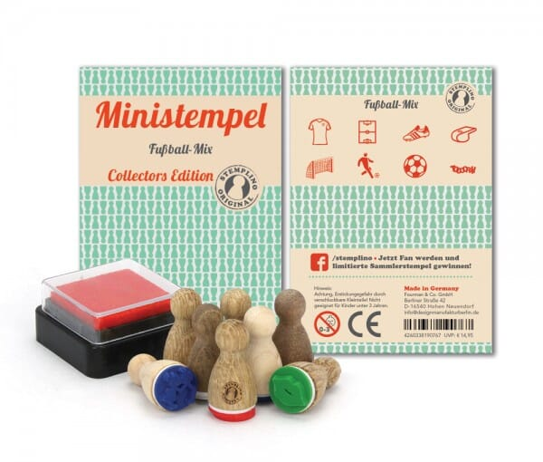 Ministempel Fussball-Mix