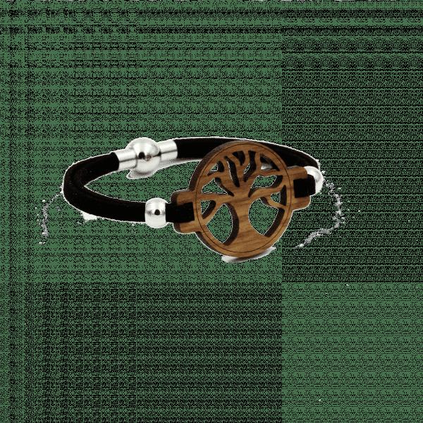 Armband - BAUM DES LEBENS - Nussholz / S