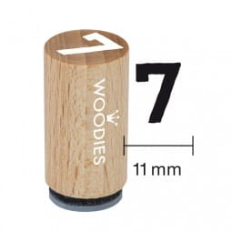 Mini Woodies Stempel - 7