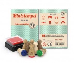 Stemplino Ministempel Bärte-Mix