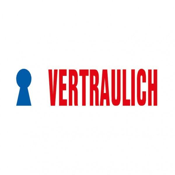 "Trodat Office Printy Textstempel ""Vertraulich"""