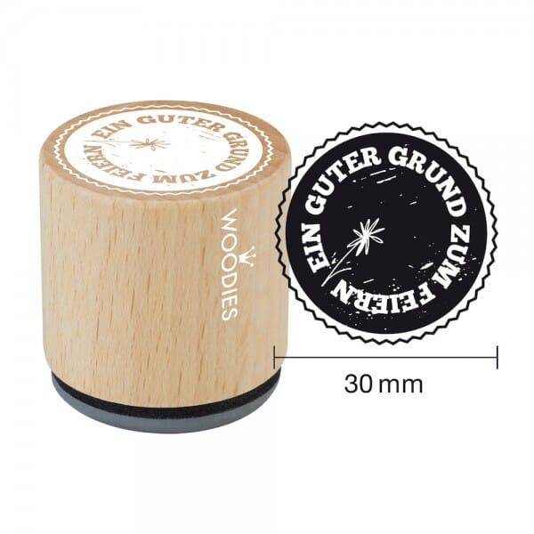 Woodies Stempel - Guter Grund zum Feiern