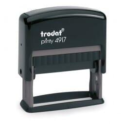 Trodat Printy 4917 - Textstempel - 50 x 10 mm - 2 Zeilen