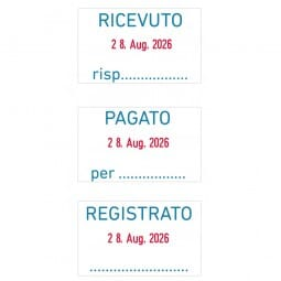 Trodat Professional Datumstempel 5430/L Italienisch