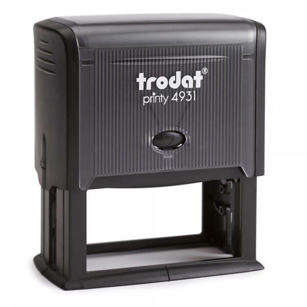 Trodat Printy 4931 - Textstempel - 70 x 30 mm - 7 Zeilen