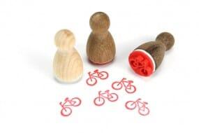 Stemplino Ministempel Fahrrad