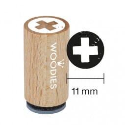 Mini Woodies Stempel - Kreuz
